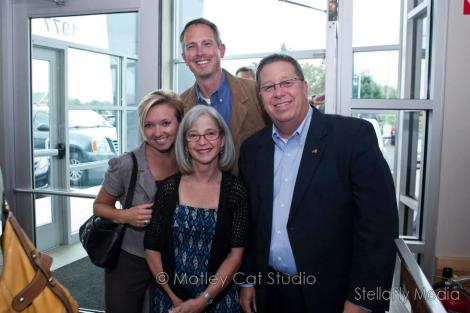With Greg, Audrey and Bryan at the grand opening of Kitchen 67!